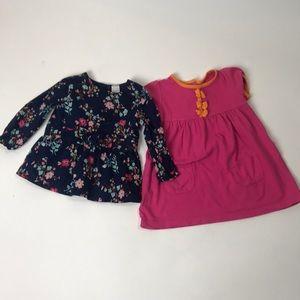Baby girl shirt bundle 12M Carters